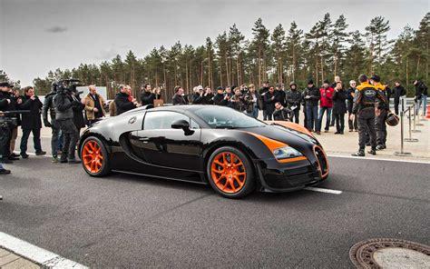 Flying In A Bugatti Veyron Grand Sport Vitesse