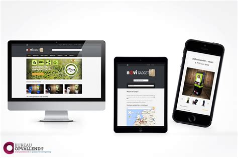 gadgets bureau webshop ontwerp novi gadgets