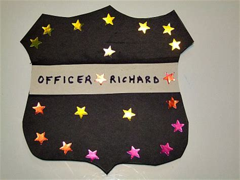 police badge craft for preschool 21 crafts for the 714