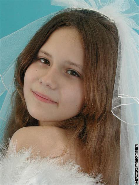 Young Beautiful Bride Posing