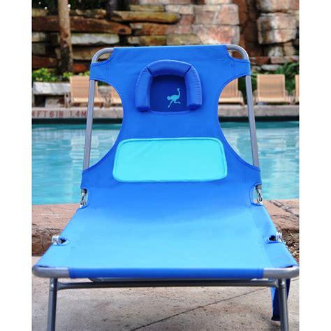 ostrich chaise lounger lounger beachkit