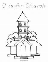Coloring Church Pages Churches Buildings Twistynoodle Built California Usa Print Noodle Change Template sketch template