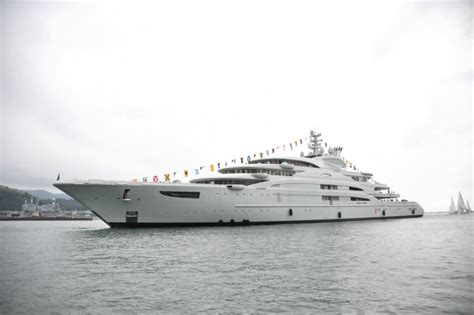 Biggest Charter Boat In The World by Top 10 Largest Superyachts Yacht Charter Superyacht News