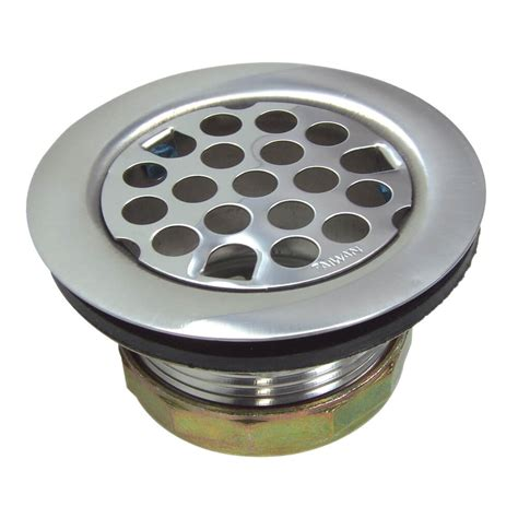 kitchen sink drain assembly flat kitchen sink strainer assembly in chrome danco