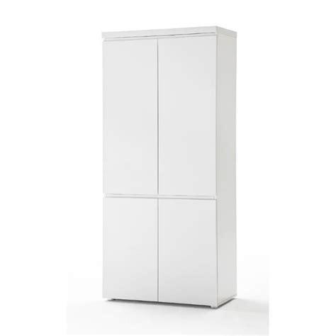 armoire bureau design armoire de bureau design carl ii coloris blanc laqué l