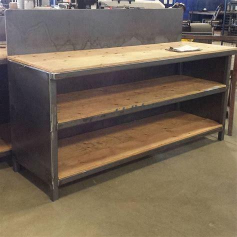 steel workbench ideas  pinterest workbench