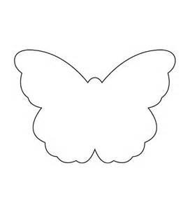 Butterflies Cut Out Template