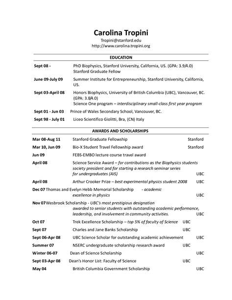Resume Header Template resume headers sles