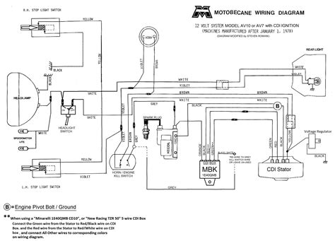dc  wire cdi diagram wiring data  electrical