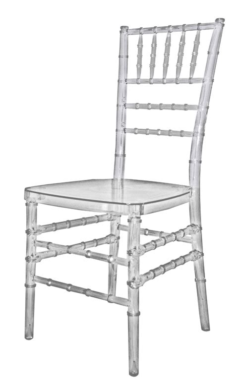 mirage clear chiavari polycarbonate chair