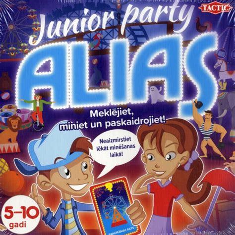Tactic Pietuvināt Spēle Alias Junior Party (LV), 5-10 gadi ...
