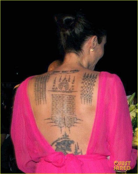 Angelina Jolie Tatouage 2017