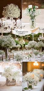 23 babys breath wedding decor ideas classy and romantic for Wedding decorations on a budget