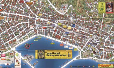 zakynthos town map zakynthos town zakynthos greece