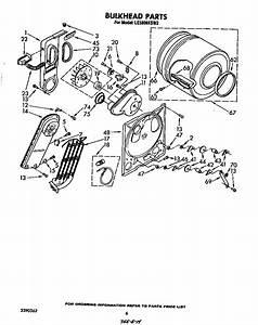 Whirlpool Le5800xsw3 Dryer Parts