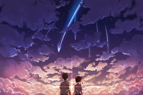 Anime Your Name Wallpaper - taki and mitsuha your name hd wallpaper hintergrund