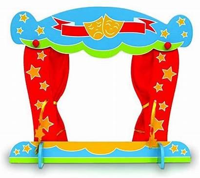 Teatro Clipart Marionetas Burattini Tellatale Kindertheater 2431