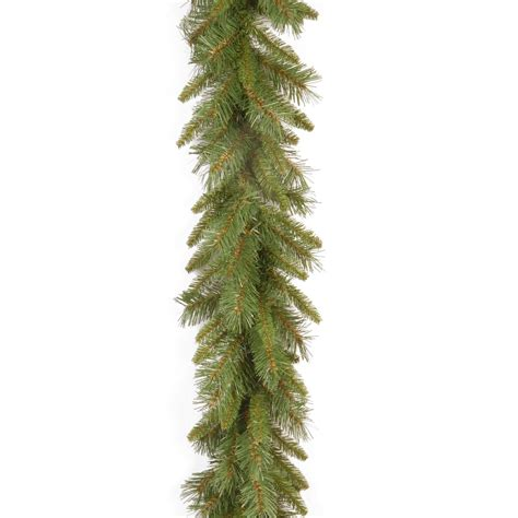 9 ft tiffany fir pre lit garland at hayneedle