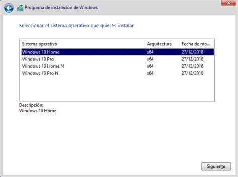 Windows 10 Homepro Rs5 180917763195 [x64][spanish