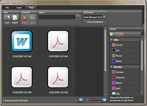 edoc organizer organize manage word pdf documents With document organizer software mac