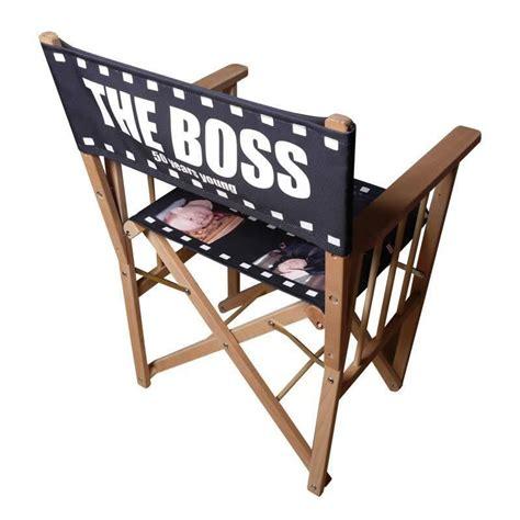 siege realisateur chaise de réalisateur personnalisée