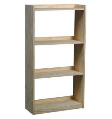 Bookcase 50 Inches Wide by 27 Inch Rta Bookcase 50 Quot H Wood N Things Furniture