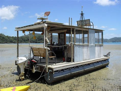 Trailerable Saltwater Fishing Boats by This Is A Diy Pontoon Kit That You Can Use To Build A