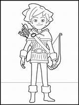 Coloring Robin Hood Kleurplaat Colorare Colorir Ausmalbilder Desenhos Minecraft Printen Pintar Dibujos Colorear Robinhood Imprimir Malvorlagen Disegni Kleurplaten Tekening Disney sketch template