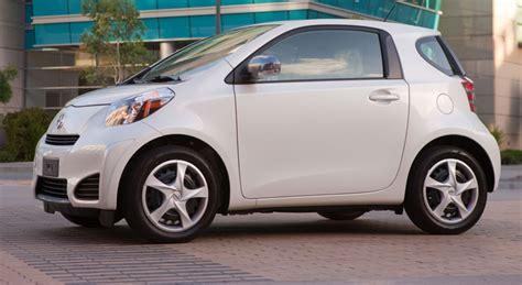 Smallest Toyota Car by 2012 Scion Iq Micro Subcompact
