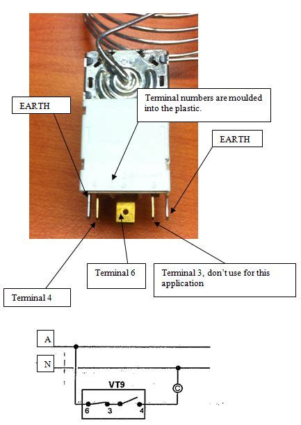wiring diagram for vt9 thermostat ranco vt9 t stat kit two door k59 l1102