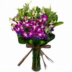 Grand Vase Transparent : thailand orchids in vase pak tak flower co ltd ~ Teatrodelosmanantiales.com Idées de Décoration