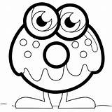 Monster Coloring Pages Printable Azcoloring Via sketch template