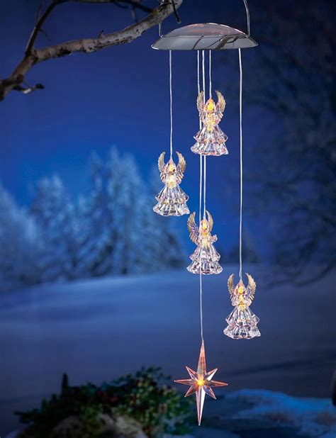 solar xmas lights for sale deal of the day solar angel windchime 8 97 blog etc
