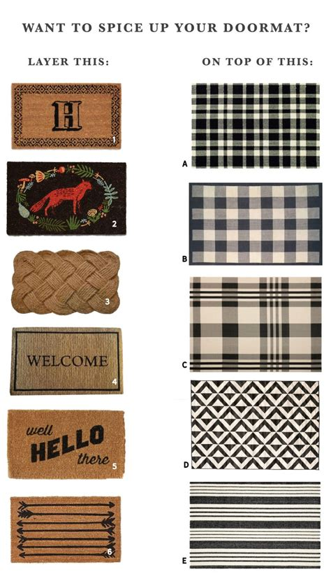 navy and white rugs mix and match layered doormat options a podcast update