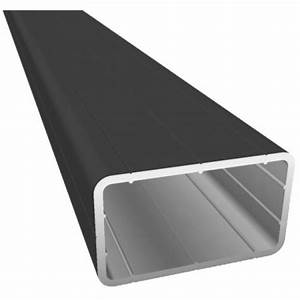 Terrassen Unterkonstruktion Alu Abstand : aluminium unterkonstruktion 29 x 49 mm schwarz pulverbeschichtet 2 90 m l nge wpcshop24 ~ Yasmunasinghe.com Haus und Dekorationen