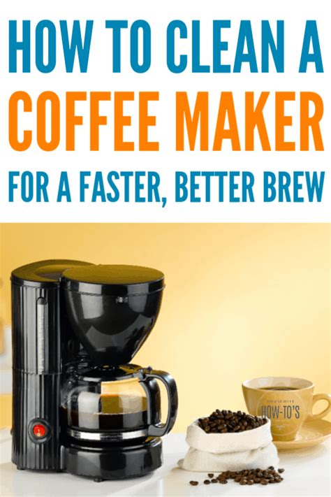 We're equal parts a passionate horde of amiable amateurs and the back room lounge of the coffee industry. How To Clean A Coffee Maker For Faster, Better Coffee