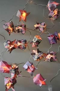 Guirlande Lumineuse Fleur : guirlande 20 lotus lumineux guirlandes origami ~ Teatrodelosmanantiales.com Idées de Décoration