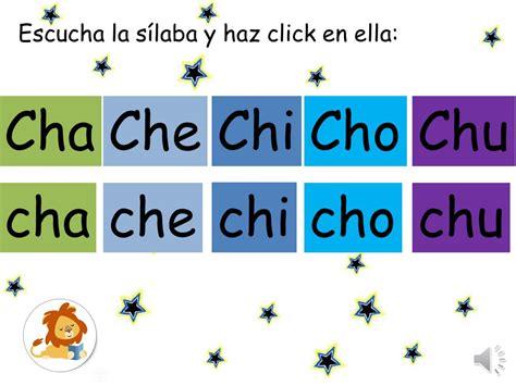 palabras con cha che chi cho chu s 237 labas cha che chi cho chu ni 241 os madreview net