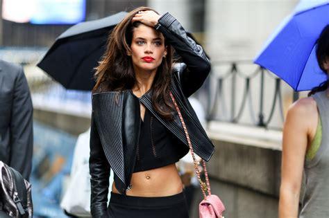 Уличный стиль Лучшие образы моделей с недель моды