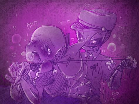 "(๑・ω-)~♥"" ♥"