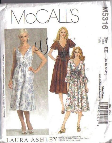 mccalls dress wardrobe separates sewing pattern misses