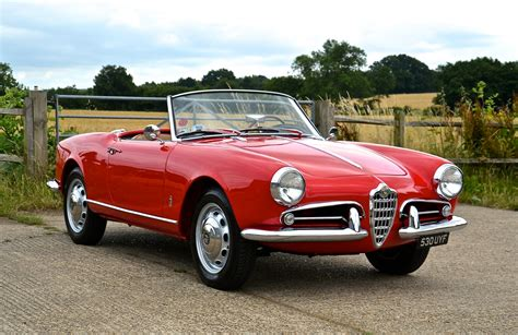 Alfa Romeo Giulietta Spider For Sale by Alfa Romeo Giulietta Spider 750d For Sale Southwood Car