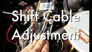 31 Mercruiser Shift Cable Adjustment Diagram