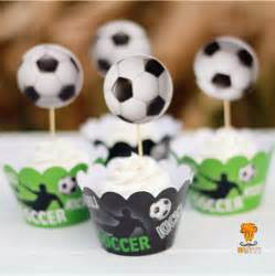 Football Baby Shower Cupcakes