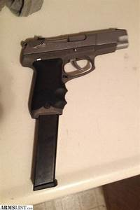 ARMSLIST - For Trade: P89 ruger 9mm with 35 round extended ...