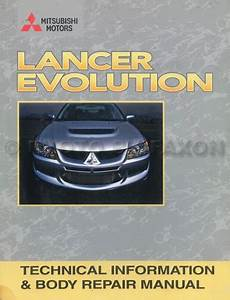 2003 Mitsubishi Lancer Evolution Wiring Diagram Manual