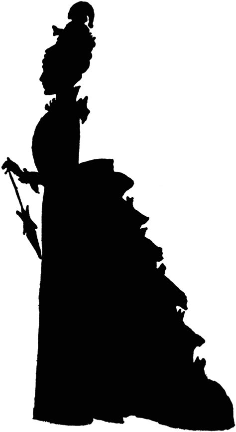 fashion silhouette clipart