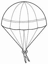 Parachute Drawing Paratrooper Sketch Template Coloring Pages Parachutes Sheet Pencil Contingency Realistic Colorful Getdrawings Seller Jump Stick sketch template