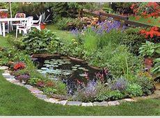 21 Garden Design Ideas, Small Ponds Turning Your Backyard