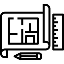 Architecture, Design, Interior, Plan, Construct Icon Free